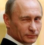 Putin - med glimten i ögat!