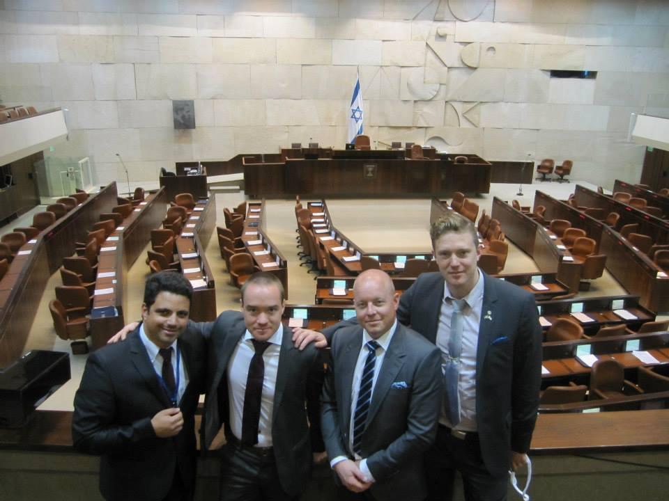 Sverigedemokrat fick israel pris