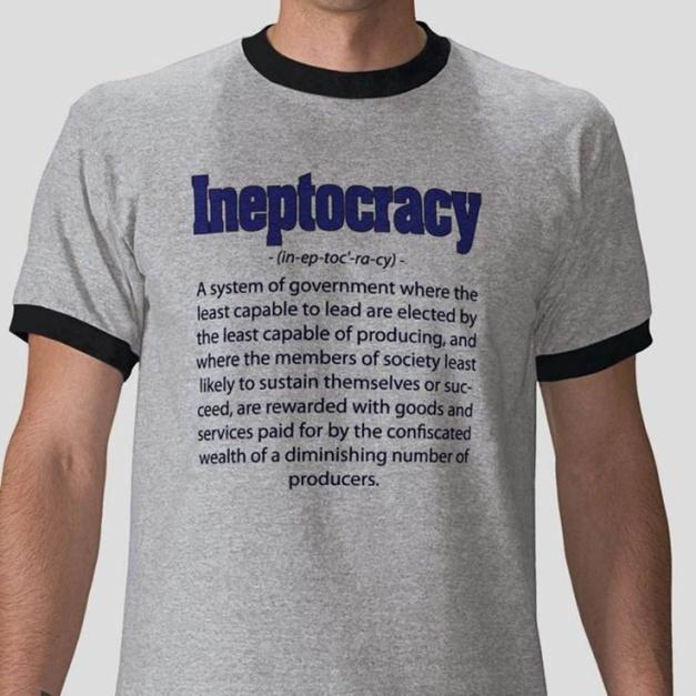 Sverige är en oligarki, men att kalla det för en inkompetentokrati är också helt rätt.