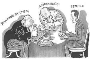 Staten betjänar oligarkin och inte folket.
