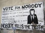 Att rösta är helt meningslöst. Varför skulle oligarkin tillåta att vanligt folk får bestämma i frågor som är viktiga för dem? Självklart gör de inte det!